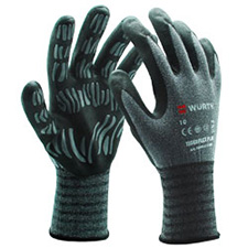 Wurth 0899411017804 Tiger Flex Plus Gloves - Small