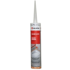 Wurth Acetic Silicone Caulking Sealant - Transparent - 310mL Tube