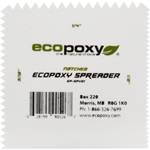 EcoPoxy Notched 4 Inch Spreader