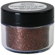 EcoPoxy Metallic Polyester Glitter - Brown - 15g
