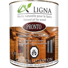 Ligna Pronto Wood Oil Anthracite 237ML