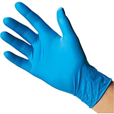 Wurth Classic Weight Nitrile Powder Free Gloves Box of 100 - Extra-Extra-Large XXL