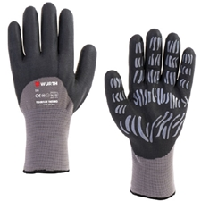 Wurth 0899404028804 Tigerflex Thermo Gloves - 1 pair - Size 8