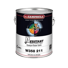 M.L. Campbell W358 211 Resistant High-Performance Pigmented Varnish - Opaque - 1 Gallon