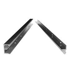 HOVR Aluminum Floating Shelf Bracket Hardware available in 8 foot lenghts