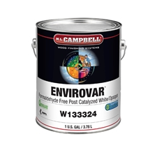 M.L. Campbell W133324 EnviroVar™ Formaldehyde Free Conversion Varnish - Satin - 1 Gallons