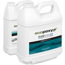 ECOPOXY FlowCast Clear Casting Resin Kit - 3 L
