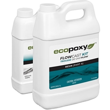 ECOPOXY FlowCast Clear Casting Resin Kit - 1.5 L