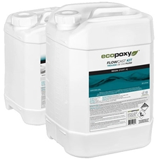 ECOPOXY FlowCast Clear Casting Resin Kit - 30 L