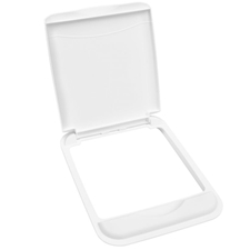 Rev-A-Shelf RV-50-LID-1 50-Quart Waste Container Lid Only - White