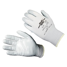 1 PAIR WELL NIT GLOVES - MED