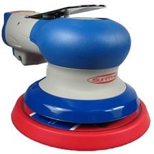 SurfPrep SPS5HL316  5-Inch Round Random Orbital Air Sander 3/16 Orbit Hook & Loop