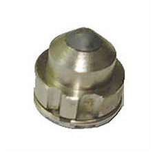 "C.A. Technologies 36-411 Air Assist Airless Tip - 0.011 Orifice - 40 Degree Angle - 8"" Pattern Width"