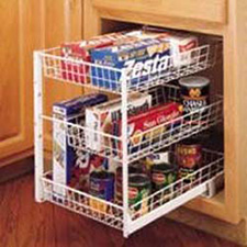 "Rev A Shelf 594-15 2 Basket Pull-Out (with slides, 15"")"