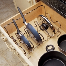 Rev A Shelf 5389-CR Pull-Out Drop-in Cookware Organizer