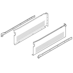 Blum Metabox 320H4500C15 Single Extension - 150mm x 450mm - Quick Assembly - Cream
