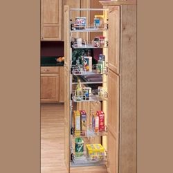 Pullout Pantry With Wire Shelves