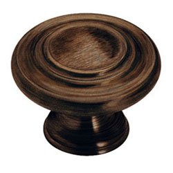 "Amerock BP1586-ORB Inspirations 3 Ring Knob - 1 3/8"" - Oil Rubbed Bronze"
