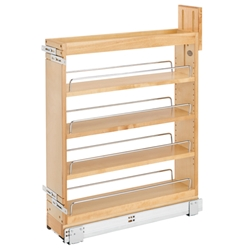 Rev-A-Shelf 448-BCSC-5C 5 Inch Soft-Close Blumotion Base Cabinet Organizer