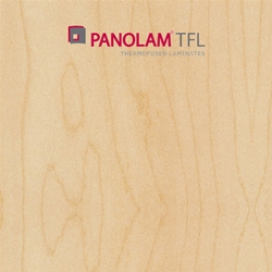 "Panolam TFL Melamine W209 Hardrock Maple Satin Finish 3/4"" G2S 49X97"