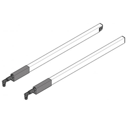 Blum Antaro ZRG.587RSIC* 650MM Longside Gallery Rails RAL9006 Grey