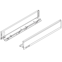 Blum Legrabox Pure 770M4002S Drawer Side Height-M 400 mm (16 inches) Orion Grey - Pair