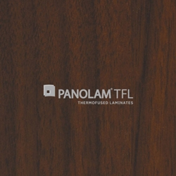 "Panolam TFL Melamine W393 Corporate Walnut Satin Finish 1"" G2S 61x109"