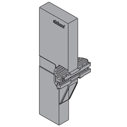 Blum Orga-Line Z40L0002.G Cross Divider for Tandembox Intivo High Fronted Pull-out - Grey