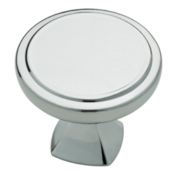 "Liberty Hardware P28013-PC-C Ashtyn Collection 1-1/4"" Knob Polished Chrome"