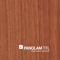 "Panolam TFL Melamine W156 Grand Cherry Chamois Finish 3/4"" G2S 61X109"