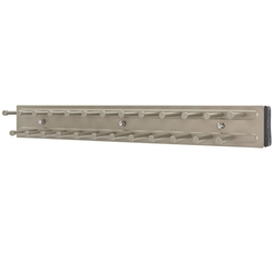 "Rev A Shelf TRC-14SN Tie Organizer Side Mount Pullout for Closet - 14"" - Satin Nickel"