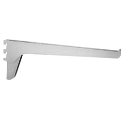 Knape & Vogt 185 85 Series Extra-Duty Bracket, Anochrome Finish 14-Inches