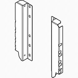 Blum TANDEMBOX Z30D000SL Back Fixings Bracket - Height D (224 mm) - right+left - Silk White