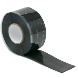 Wurth 0985077200804  Silicone Tape - 25mm x 3m - Black