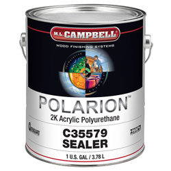 M.L. Campbell C35579 Polarion Interior Clear Sealer - 1 Gallon
