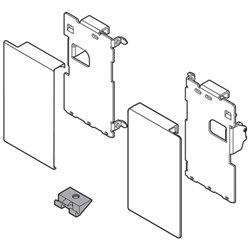 Blum Zi7 0ms0 05156741 Legrabox Front Fixings R L Height M For