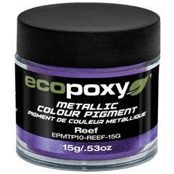 EcoPoxy Metallic Colour Pigment - Reef - 15g