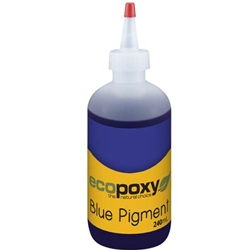 EcoPoxy Blue Liquid Colour Pigment 240ML