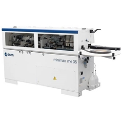 SCM Minimax ME35TR Edge Bander with Pre Milling and Corner Rounding