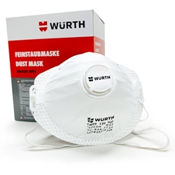 Wurth N95 Respirator Dust Mask with Vent - box of 10