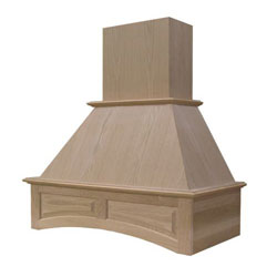 "Omega National Products R2636SMB1MUF1 36"" Arched Signature Wood Range Hood - Maple"