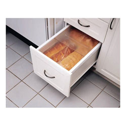 "Rev A Shelf BDC24-11 Bread Drawer Kit for Drawers - 20 1/8"" - White"