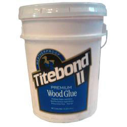 Titebond 2317 Titebond II Fluorescent Wood Glue - 5 Gallons
