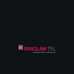 "Panolam TFL Melamine S405 Black Satin Finish PAN 1"" G2S 61x109"