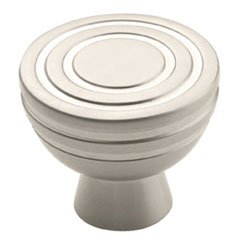 "Amerock BP53043-SN Sonara Collection Knob - 1 7/32"" - Satin Nickel"