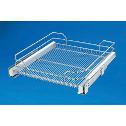 "Rev A Shelf 5330-21-GS Base Cabinet Pullout Single Glass Basket (for 24"" base)"