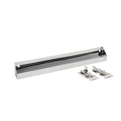 Rev A Shelf 6581-22-52 Tip-Out Tray Stainless Steel with Hinges - 22""