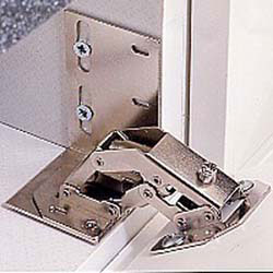Rev A Shelf 6542-ETH-11-10 Hinges and End Caps for Slim Tray (10)