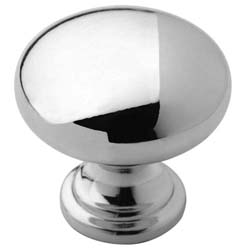 "Amerock BP53023-26 Allison Value Hardware Collection Knob - 1 1/4"" - Polished Chrome"