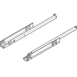 Blum Tandem 550H4500.03 Single Extension Drawer Runners 450mm 18inch 30kg